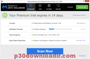 Malwarebytes Anti-Malware Database 2019 License With Crack Key